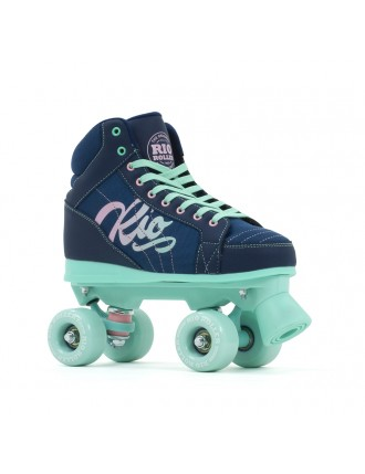 Wrotki Rio Roller Lumina Navy/Green