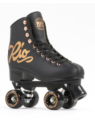 Wrotki Rio Roller Rose Black
